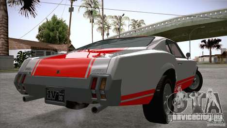 Sabre GT From GTA IV для GTA San Andreas