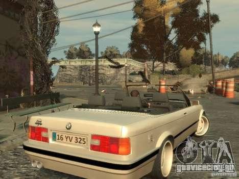 BMW 3-er E30 для GTA 4 вид сзади
