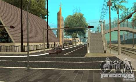 Новое дорожное покрытие (new surface) для GTA San Andreas второй скриншот
