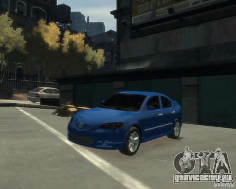 Mazda 3 sedan 2008 для GTA 4