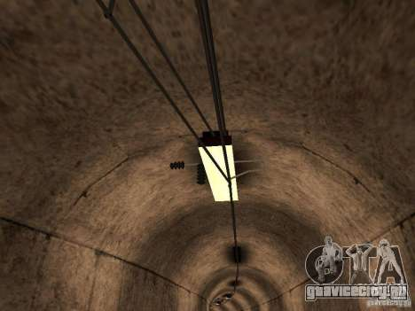 Высокоскоростная ЖД линия для GTA San Andreas третий скриншот