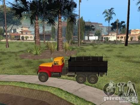 ЯАЗ 214 для GTA San Andreas вид справа