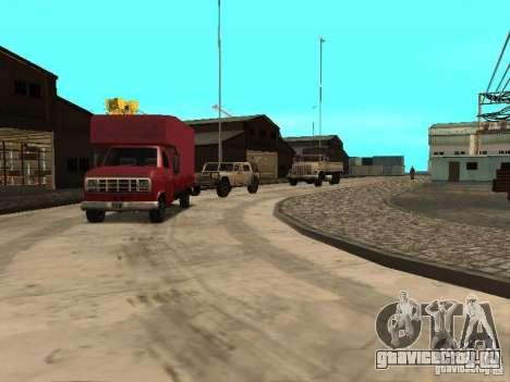 Оживление военной базы в доках для GTA San Andreas второй скриншот