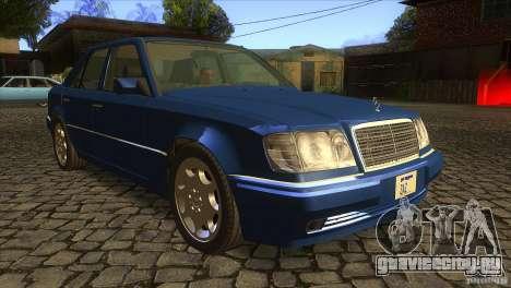 Mersedes-Benz E500 для GTA San Andreas вид сбоку