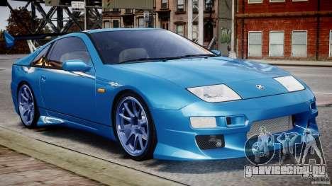 Nissan 300 ZX 1994 v1.0 для GTA 4 вид слева
