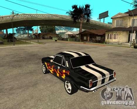ГАЗ 2410 Camaro Edition для GTA San Andreas вид слева