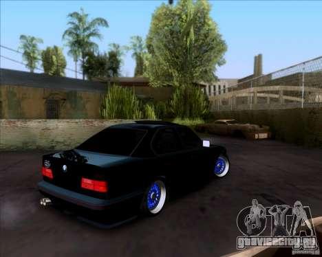 BMW 5-er E34 для GTA San Andreas вид слева