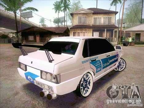 ВАЗ 21099 Drift Style для GTA San Andreas вид слева