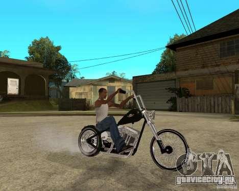C&C chopeur для GTA San Andreas вид справа