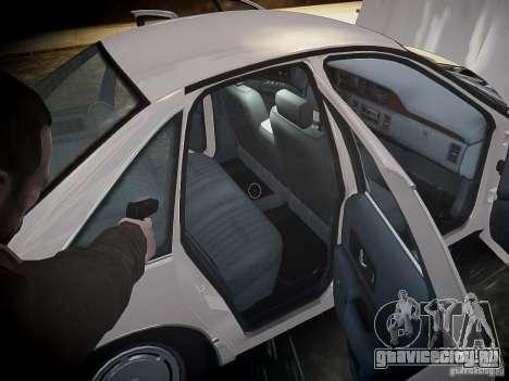 Chevrolet Caprice 1993 Rims 1 для GTA 4 салон