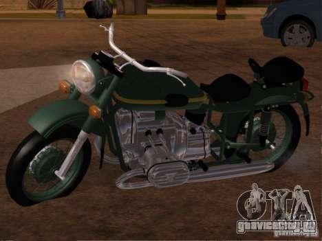 Урал М-67 36 для GTA San Andreas вид слева