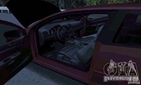 Volkswagen Golf V JDM Style для GTA San Andreas вид слева