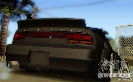 Nissan 240SX Rocket Bunny для GTA San Andreas вид сзади слева