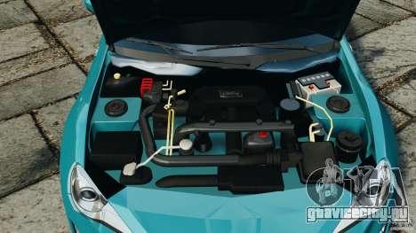 Scion FR-S для GTA 4 вид сверху
