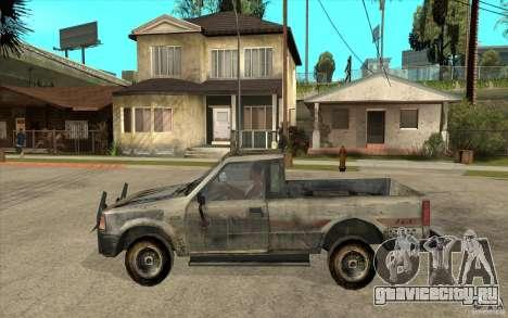 Rusty Mazda Pickup для GTA San Andreas вид слева