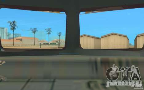 Поезд ER2-K-1321 для GTA San Andreas вид сзади