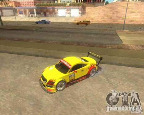 Audi TTR DTM racing car для GTA San Andreas