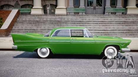 Plymouth Belvedere 1957 v1.0 для GTA 4 вид сбоку