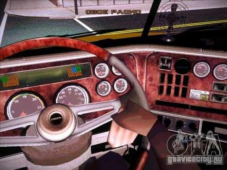 Freightliner Century Classic для GTA San Andreas вид сверху