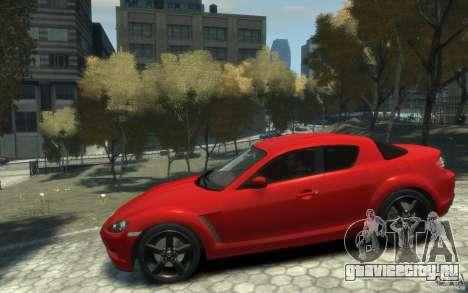 Mazda RX-8 (2006) для GTA 4 вид слева