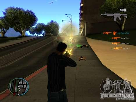 KILL LOG для GTA San Andreas третий скриншот