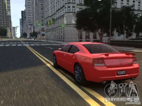 Dodge Charger SRT8 2006 для GTA 4 вид снизу