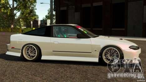 Nissan 240SX facelift Silvia S15 [RIV] для GTA 4 вид слева