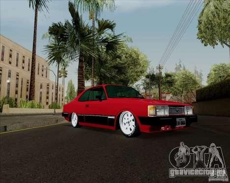 Chevrolet Opala Diplomata 1986 для GTA San Andreas вид сзади слева
