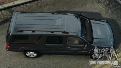 Chevrolet Suburban GMT900 2008 v1.0 для GTA 4 вид справа