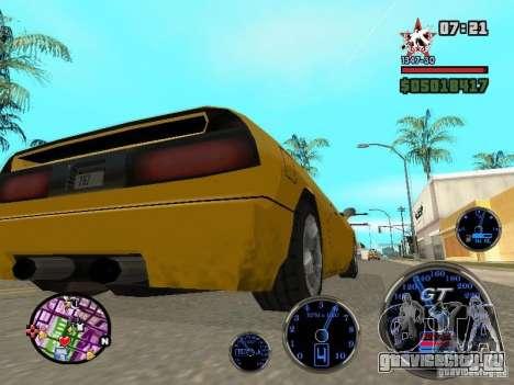 Speedometer GT для GTA San Andreas четвёртый скриншот