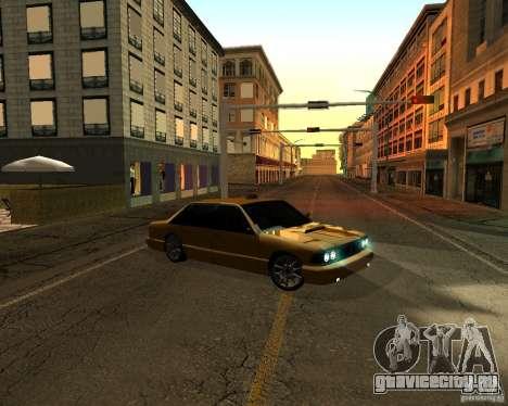 Azik Taxi для GTA San Andreas вид сзади слева