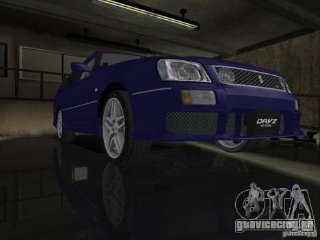 Nissan Stagea 25RS four S для GTA San Andreas вид сзади