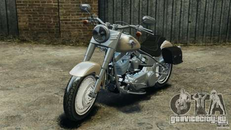 Harley Davidson Softail Fat Boy 2013 v1.0 для GTA 4