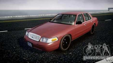 Ford Crown Victoria 2003 v.2 Civil для GTA 4
