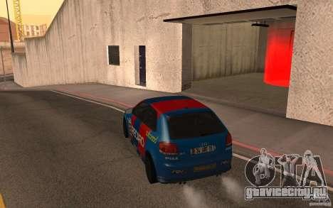 Audi S3 Tunable для GTA San Andreas вид сзади слева