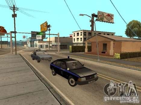 АЗЛК 21418 Патруль для GTA San Andreas вид сзади