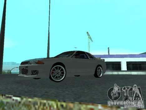 Nissan Skyline R32 Tuned для GTA San Andreas вид слева
