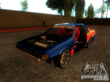 Previon FNF3 для GTA San Andreas вид сзади