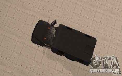 ЗиЛ 130 Радио Бутка для GTA San Andreas вид сзади