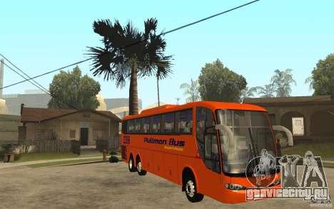 Marcopolo Paradiso 1200 Pullman Bus для GTA San Andreas вид сзади