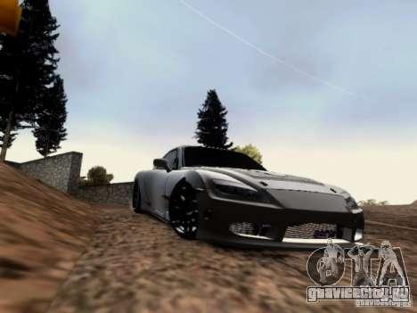 Mazda RX7 Tuning для GTA San Andreas вид слева