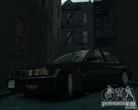 BMW 750i E38 1998 для GTA 4