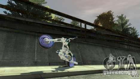 HellFire Chopper для GTA 4 вид изнутри