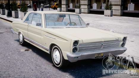 Ford Mercury Comet 1965 для GTA 4 вид снизу