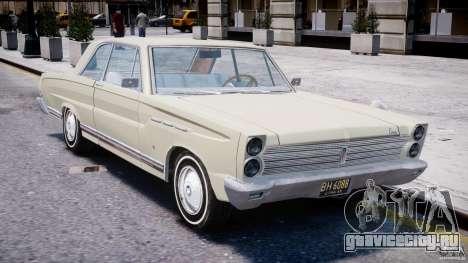 Ford Mercury Comet 1965 для GTA 4 вид снизу