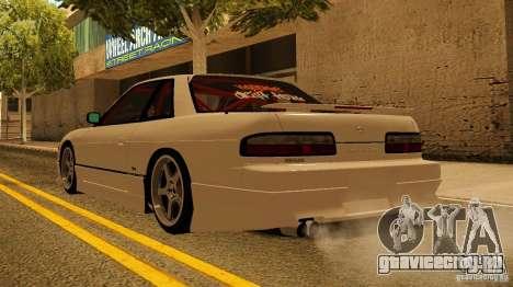 Nissan Silvia S13 MyGame Drift Team для GTA San Andreas вид сзади слева