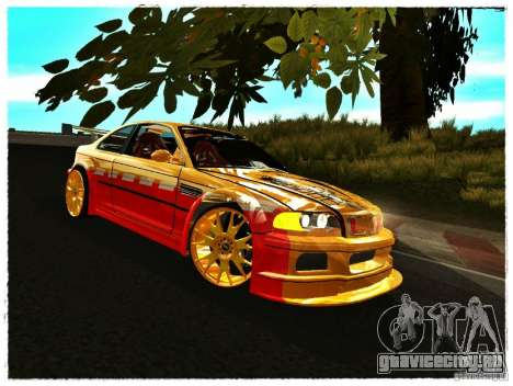 BMW M3 Calibri-Ace для GTA San Andreas