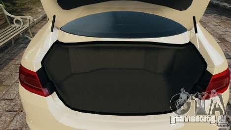 Jaguar XFR 2010 v2.0 для GTA 4 вид снизу