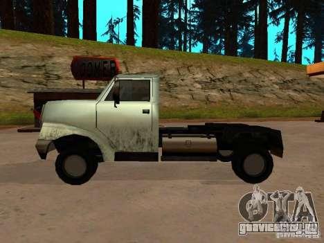 Yankee Truck для GTA San Andreas вид справа