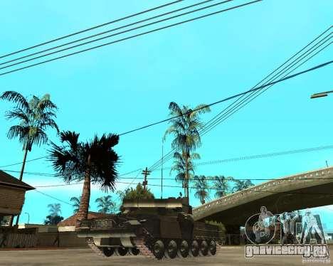 Т-80У для GTA San Andreas вид сзади слева